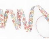 1 yard - Liberty of London Tana Lawn fabric, bias tape - print: Jennie and Steve B - Last piece!