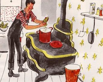 Mr. Picklepaw's Popcorn by Ruth Adams, illustrated by Kurt Werth