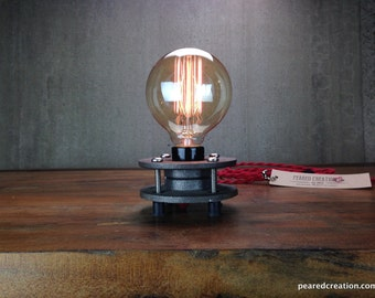 etsy industrial lighting. minimalist table lamp industrial lighting edison bulb etsy t