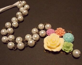 Vintage Inspired Garden Necklace