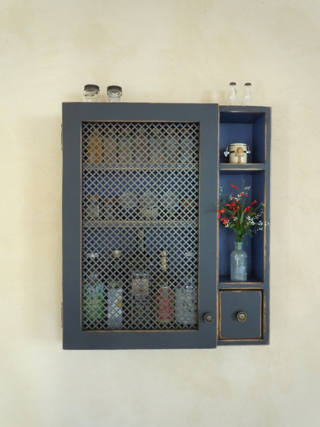 Kitchen Storage Cabinet-Rustic Wall Cabinet by ... - photo#34