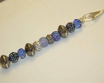 Glass & Metal Beads Christmas Decoration / Ornament / Sun Catcher