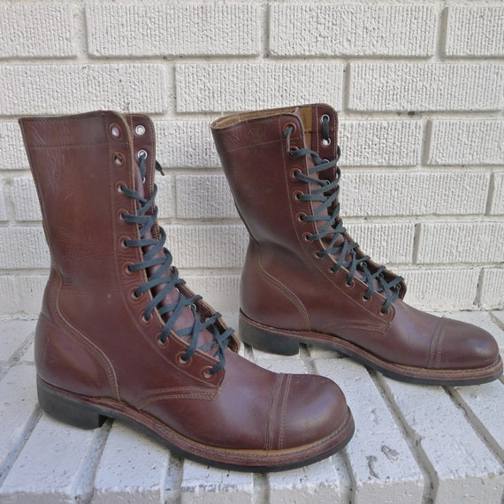 vintage 1950 s jump boots s size 9 international