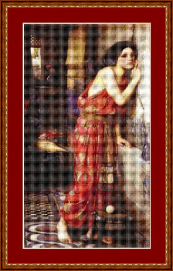 Thisbe Cross Stitch Pattern /Digital PDF Files /Instant downloadable