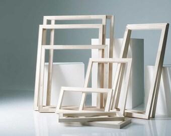Art Supplies Stretcher Frames - Pure Pine Wood Assembled Stretcher Frame for Canvas Stretching 16x20