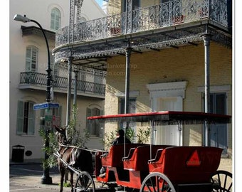 The Carriage Awaits Photo - New Orleans French Quarter