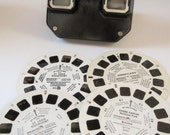 A Sawyer's 1950's View-Master Stereoscope Bakelite - Pat. 2,189,285 USA in the Bottom Half of Its Orginal Box
