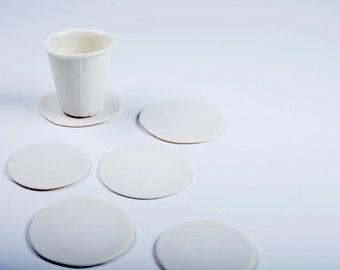 Reserved for 'La Mode en Images' ! FLAK - porcelain coaster
