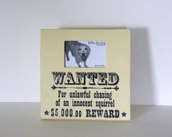 dog frame, pet frame, dog breed gift