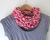 Red White Scarf . Team Sc...