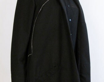 Long popelin jacket