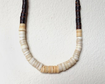Vintage Native American Heishi Bead Necklace