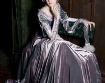 "15% DISCOUNT! Custom Renaissance Dress ""Lady Rowena""; velvet gown; medieval gown' ren gown"