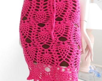 Silky PineApple Skirt