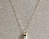 Pearl Necklace - Small Wh...