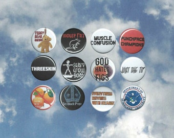Andy Dwyer Band 1-inch Button Pack
