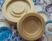 """Dollhouse Paper Plate Maker Mold/Jig Multiple Scale (1"""")"""