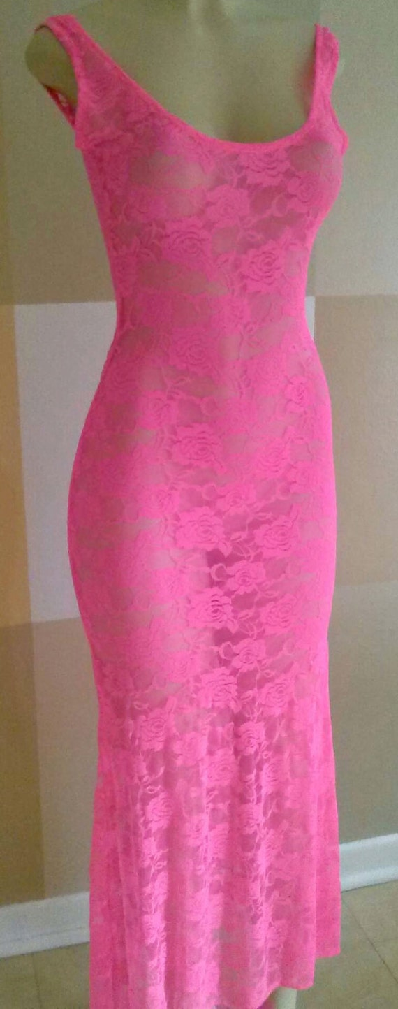 How to Wear Pink Dresses. We have pink frocks in so many fine designs! Or you can attend a weekend brunch in a Sweet Fantasy lace bodycon dress! This imported polyester design has textured hems and an unlined top. Wear it with beige strappy sandals and a .