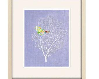 girl nursery art,baby girl nursery decor,bird decor,baby girl decor,lilac nursery,abstract art,bird nursery art,nursery art,baby shower gift