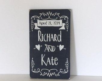 wedding sign, personalized wedding sign, wedding gift