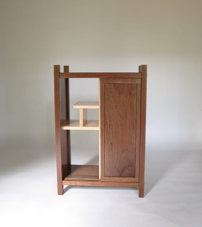 BAR CABINET: Liquor Cabinet Dry Bar Modern Wood Bar