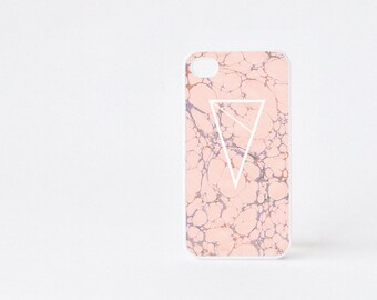 Pink Marble iPhone 4 Case - Geometric iPhone 4s Case - Pink Marble Print iPhone 5 Case - Geometric iPhone Case - Accessories for iPhone 5s