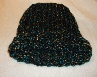 Thick Warm Hand-Knit Cap