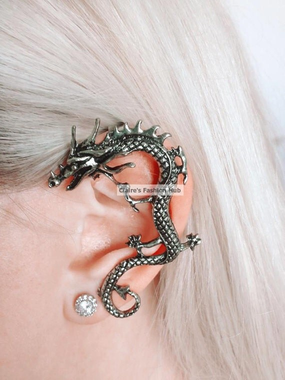 Game of thrones inspired customized hand by clairesfashionhub - Game of thrones dragon ear cuff ...