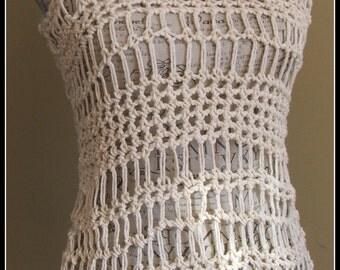 Free Crochet Patterns On Etsy : Handmade crochet tank top ? Etsy
