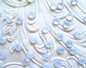 144 Pcs., 1440 Pcs. or 14,400 Pcs./ White Opal SS16 Hot Fix (Hotfix)  Heat Set Flat Back Crystal Rhinestones - 4mm
