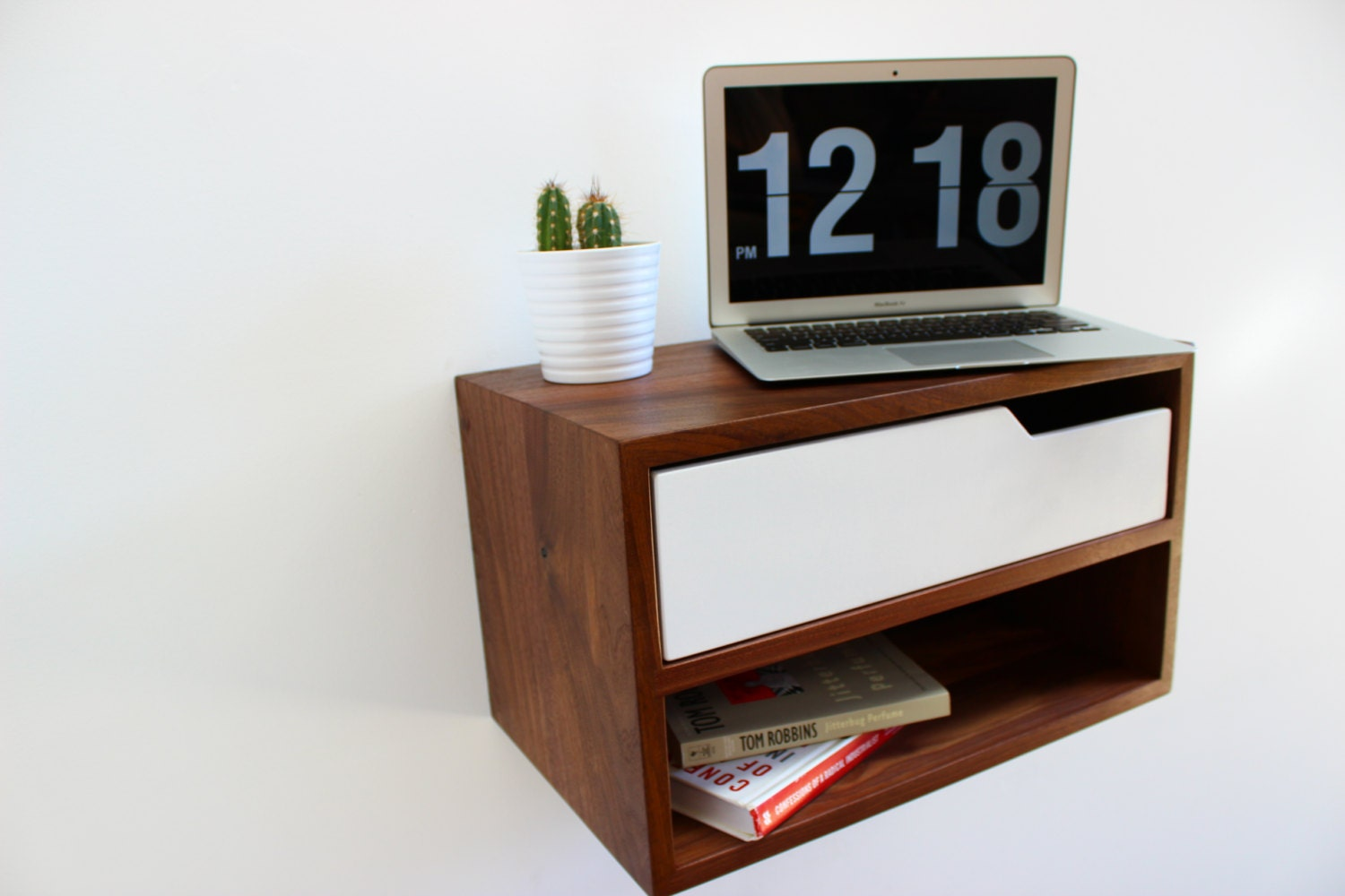 Floating Nightstand / Hanging Table 16 long