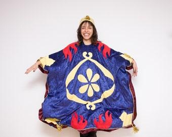 Halloween Costume, Childrens Costume, Aladdin's Magic Carpet Costume, Flying Carper, School Play, Fly, Boys and Girls, Rosenmontag Kostüm