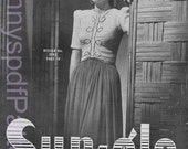 1940s knitting Patterns - PDF Copy of Sun-glo Knitting Booklet Series 40