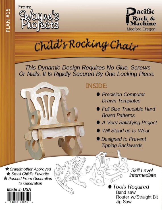 Child's Rocking Chair Plans