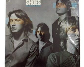 Vintage 70s Shoes Present Tense Album Record Vinyl LP
