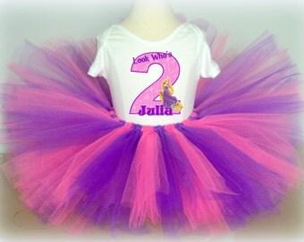 Tangled Rapunzel Birthday Tutu
