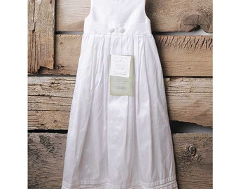 William Silk Christening Gown, Baptism Gown for Baby Boys