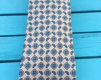 Vintage Ralph Lauren Polo Tie - Menswear, Light Pink/Navy, Preppy, Great Condition