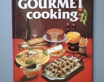 Vintage Gallery Gourmet Cooking Cookbook