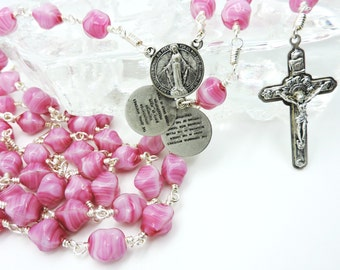 Unbreakable Rosary, Virgin Mary Blessed Mother a Family Heirloom Rosary