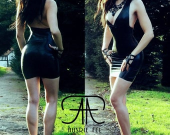 Ultimate darkness latex dress. Different colors/sizes available. Made to order