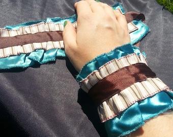 Wrist Ruffle Cuffs