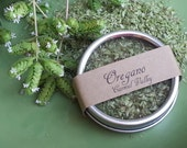 Dried Oregano, dried herbs, natural herbs for cooking, dried herb tins, spice kits, organic dried herbs gift for teacher wicca herbs