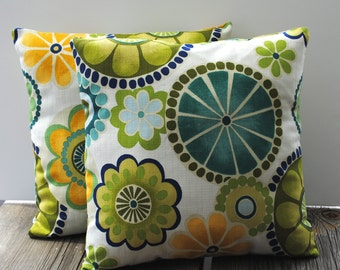Two Swavelle/Mill Creek pillow covers, cushion, decorative throw pillow, decorative pillow, accent pillow, pillow case