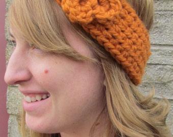 Orange Ear Warmer