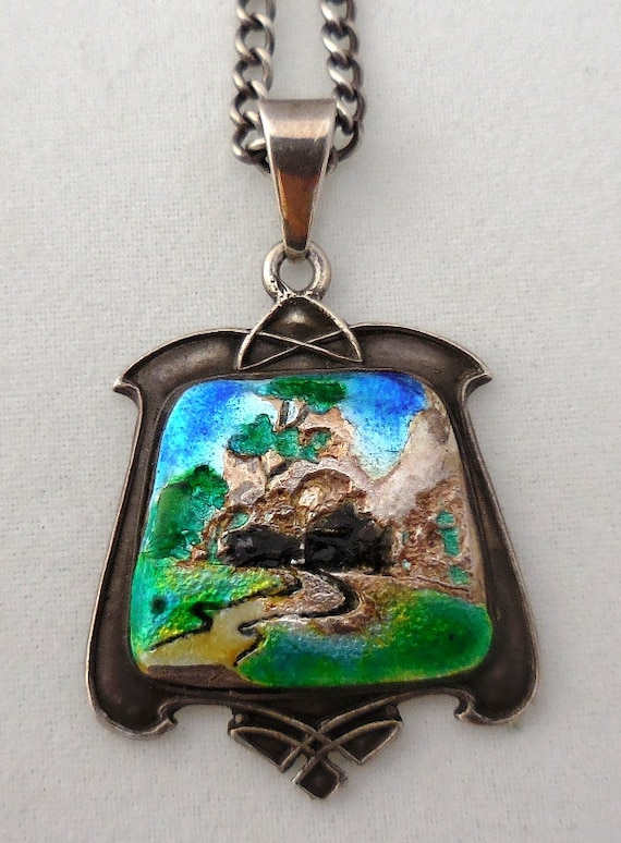 early century arts and crafts jewelry antique solid silver