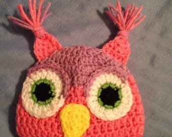 Owl Beanie for Baby