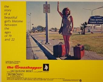 "Lobby Card    ""The Grasshopper"" -  Original 1970 Lobby Card -  Jacqueline Bisset"