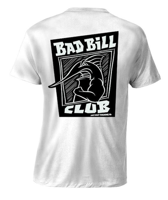Fishing t shirt by lost reef bad boy club sportfishing for 4xl fishing shirts