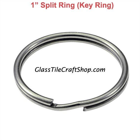 Inch Open Stainless Steel Split Rings